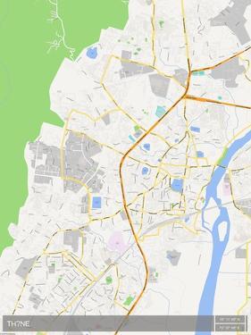 Thane, India Map
