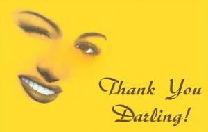 Thank You Darling, Winking Woman's Features