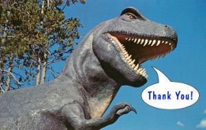 Thank You, Tyrannosaurus Rex