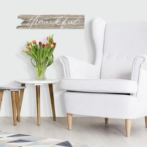 Thankful Quote Peel and Stick Wall Decals