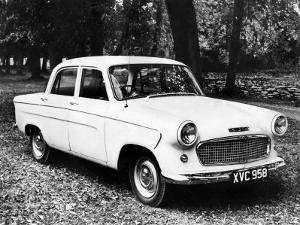 The 1960 Standard Ensign Saloon, October 1959