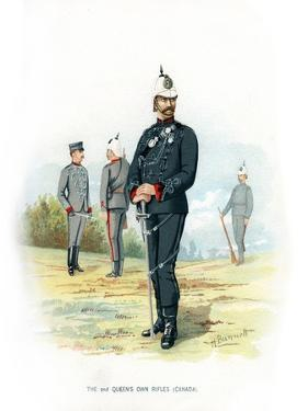 The 2nd Queen's Own Rifles (Canad), C1890 by H Bunnett