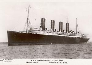 The 31 Ton Mauretania at Southhampton Docks