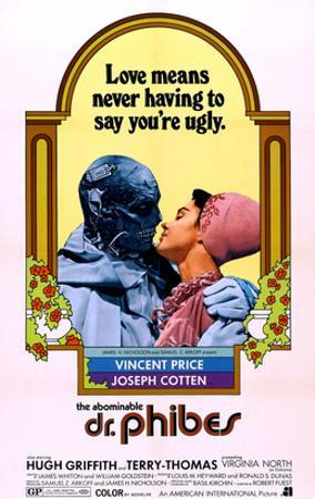 The Abominable Dr. Phibes, Vincent Price, Virginia North, 1971