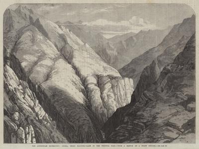 The Abyssinian Expedition, Deema, Third Halting-Place in the Tekonda Pass
