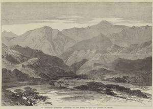 The Abyssinian Expedition, Koomailee, at the Mouth of the Pass Leading to Senafe