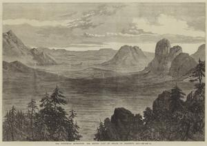 The Abyssinian Expedition, the British Camp at Senafe on Christmas Day