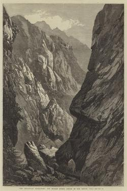 The Abyssinian Expedition, the Middle Sooroo Defile in the Senafe Pass