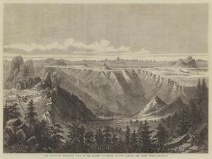 The Abyssinian Expedition, View of the Plateau at Senafe, Looking Towards the Adowa Peaks