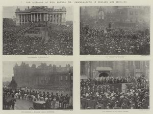 The Accession of King Edward Vii, Proclamations in England and Scotland