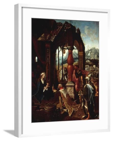The Adoration of the Kings-Jan De Beer-Framed Giclee Print