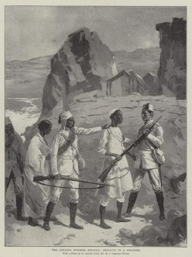 The Advance Towards Dongola, Bringing in a Prisoner