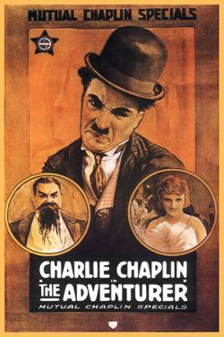 The Adventurer Movie Charlie Chaplin Poster Print