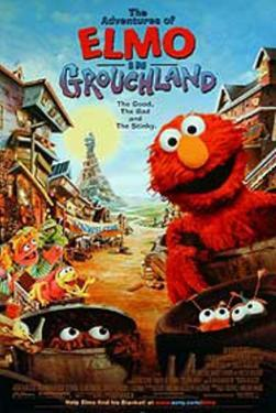 The Adventures of Elmo In Grouchland Movie Poster
