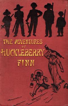 The Adventures of Huckleberry Finn Book Cover