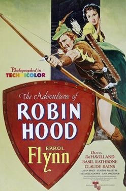 """The Adventures of Robin Hood"" 1938, Directed by Michael Curtiz, William Keighley"