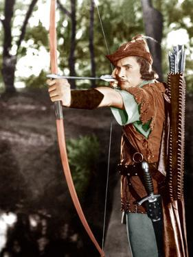 THE ADVENTURES OF ROBIN HOOD, Errol Flynn, 1938