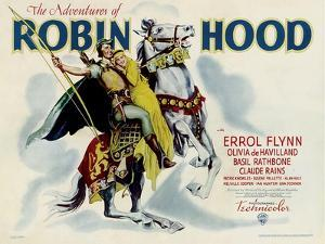 The Adventures of Robin Hood, Errol Flynn, Olivia DeHavilland, 1938