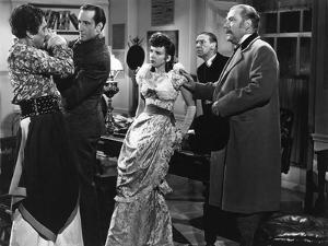 THE ADVENTURES OF SHERLOCK HOLMES, 1939 directed by ALFRED WERKER Basil Rathbone, Ida Lupino and Ni
