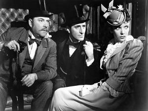 THE ADVENTURES OF SHERLOCK HOLMES, 1939 directed by ALFRED WERKER Nigel Bruce, Basil Rathbone and I