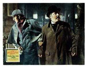 The Adventures of Sherlock Holmes, from Left, Basil Rathbone, Nigel Bruce, 1939