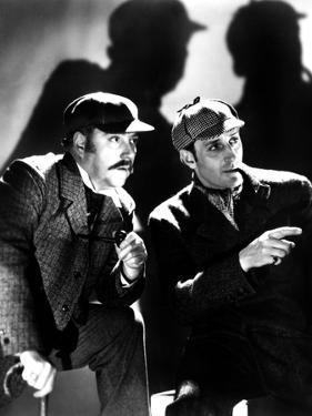 The Adventures of Sherlock Holmes, Nigel Bruce, Basil Rathbone, 1939, as Watson and Sherlock Holmes