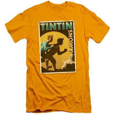 The Adventures of Tintin - Tintin & Snowy Flyer (slim fit)