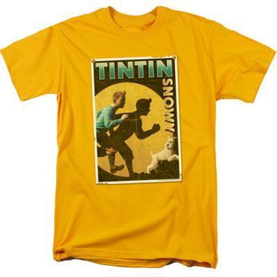 The Adventures Of Tintin- Tintin & Snowy Flyer