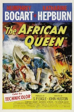 The African Queen, 1951, Directed by John Huston