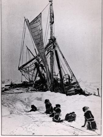 "The Agony of ""The Endurance,"" from ""Expedition to the South Pole"" by Ernest Shackleton 1914-1917"