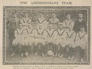 The Airdrieonians Team
