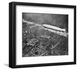The Airship 'Graf Zepplin' over London, August 1931