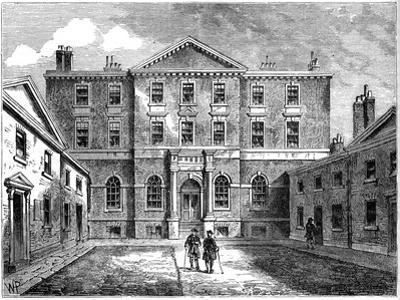 The Albany, London, 1805
