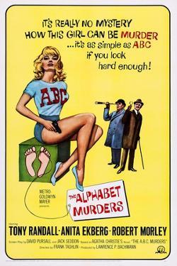 The Alphabet Murders, from Left: Anita Ekberg, Robert Morley, Tony Randall, 1965