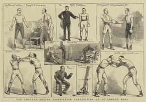 The Amateur Boxing Association Competition at St James's Hall