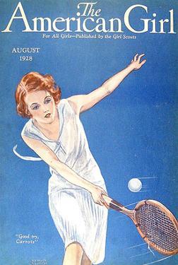 The American Girl, 1928, USA