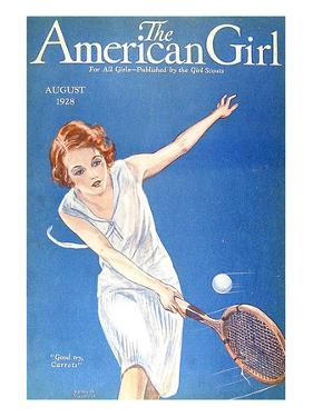 The American Girl, 1928, USA