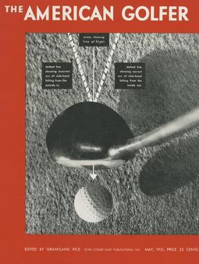 The American Golfer Cover - May 1931