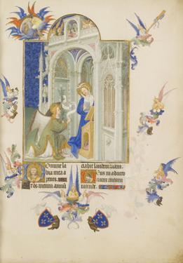 The Annunciation (Les Très Riches Heures Du Duc De Berr)