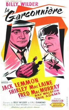 The Apartment, French Movie Poster, 1960