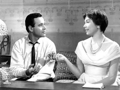 The Apartment, Jack Lemmon, Shirley MacLaine, 1960