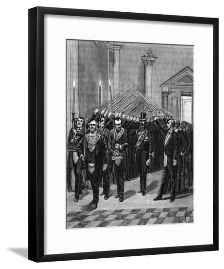 The Arch of Steel--Framed Giclee Print