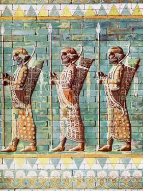 The Archers of Kiing Darius, Susa, Iran, 1933-1934