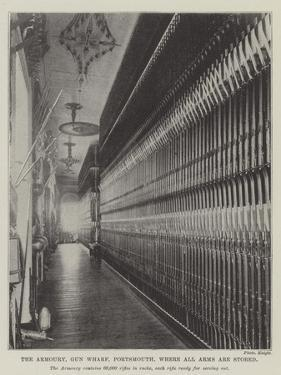 The Armoury, Gun Wharf, Portsmouth, Where All Arms are Stored