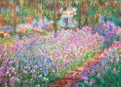 The Artist's Garden by Claude Monet 1000 Piece Puzzle