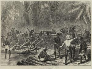 The Ashantee War, Cutting and Making a Road to Coomassie