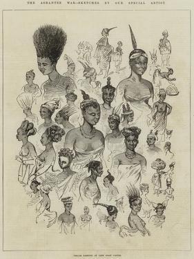 The Ashantee War, Female Fashions at Cape Coast Castle