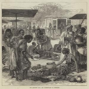 The Ashantee War, the Market-Place at Coomassie