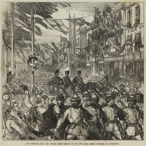 The Ashantee War, the Return Home, Arrival of the 23rd Royal Welsh Fusiliers at Portsmouth