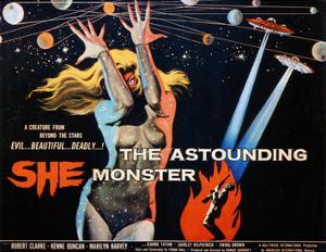The Astounding She Monster, Shirley Kilpatrick, 1958